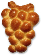 Grape-Shaped Challah